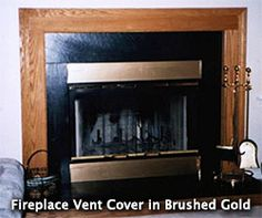 Magnetic Fireplace Vent Covers On Pinterest