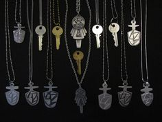 All the different TARDIS Keys