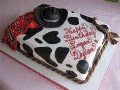 cute cowboy cake