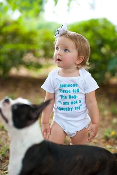 I am Not a Squeaky Toy - Funny Baby Onesie - Toddler Tee