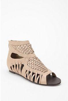 Beige Gladiator Sandal
