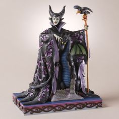 Evil Enchantment-Maleficent And Dragon Figurine - Jim Shore Store