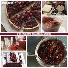holiday, cranberri recip, favorit cranberri, dessert