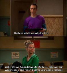 Penny and Sheldon humor. Big bang Theory