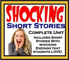 This short story unit is perfect for any high school English classroom. The stories have been used in my class with great success. The students especially love the surprising endings! The product includes eye-catching presentations, discussions, videos, and creative assessments.