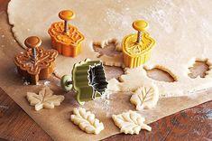 Fall leaf pie crust cutters
