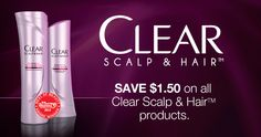 New Printable Clear Haircare Coupon | Pay Only $2.98 after Coupon at Walmart! #spon