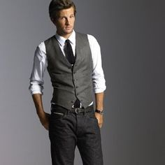 Casual suit vest