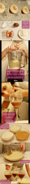 mousse de chocolate com maracujá - A Series of Serendipity