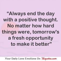 second chanc, positive thoughts, posit thought, quot