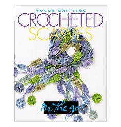 $12.95 via Shops@McCall Vogue Knitting On the Go! Crocheted Scarves vogue, crochet scarf, vogu knit, craft, crochet scarv, crocheted scarf, knitting, book, scarves