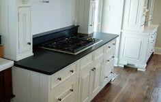 Instant Granite Film Unatuba Black - Temporary solution to our counter problem.