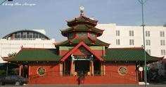 The Zheng He Mosque in Surabaya.