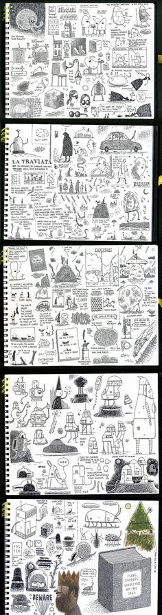 Tom Gauld's sketchbook