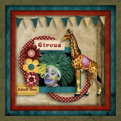 kit:  Circus Scenes by StarSongStudio.  Available at:    E-scape and Scrap  Digidesignresort   Cool Scraps Digital  Heritage Scrap - coming soon