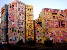 Happy Rizzi House-Braunschweig, Germany. Located on the ruins of a ducal palace, the house is a big hit with both children & adults.
