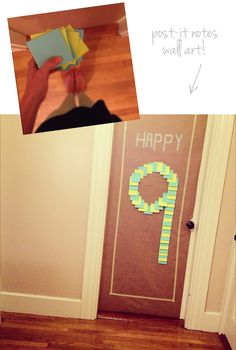 Make some one feel special with Post Its!