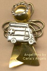 I SO Need This. ***Repin With Original Caption*** :: Angel Pin - EMT, Emergency Medical Technician-$16.95