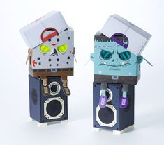 papertoy, paper toyz, modern paper, paper toys