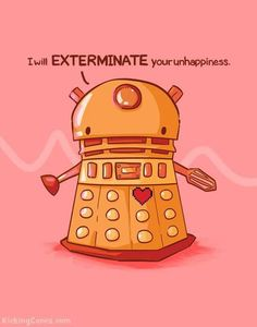 How come I love Daleks so much?
