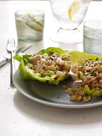 Chicken Lettuce Cups - Healthy Recipe Finder | Prevention 344.2 mg of Sodium per serving.