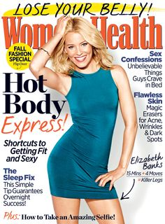 Elizabeth Banks reveals the 4 moves she does for those killer legs.