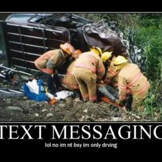 Texting And Driving: Driving while Intexticated [Infographic]