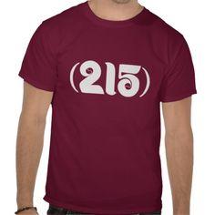 Retro Phils Area Code T Shirts