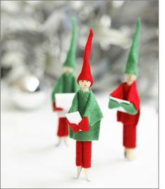 singing elves...