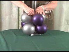 How to make a balloon center piece