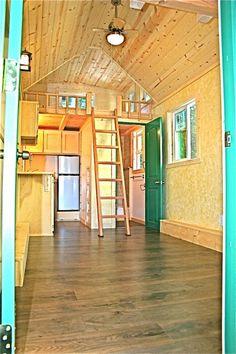 Molecule Tiny Home #3 Interior | Tiny House Pins