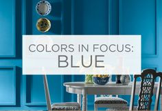 Explore the power of blue. Soothing, powerful, vibrant. See how one color can evoke many different feelings.