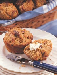 What's not to love about our healthy nut and grains recipe for Pecan Muffins