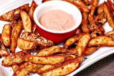 Baked Mojo Fries