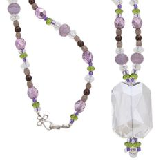 Plumtastic Necklace