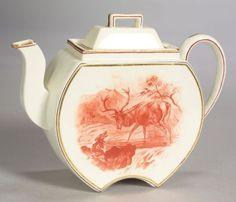 Wedgwood Queens Ware Satsuma Teapot