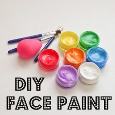 Make your own face paint!