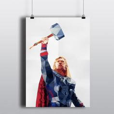 Thor (Only 50 printed!!) by cooeedesign