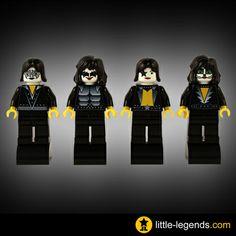LEGO bands | lego_kiss_rock_band