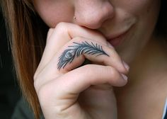 55+ Cute Finger Tattoos | Cuded