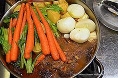 roast cook, chuck roast, roast smoke