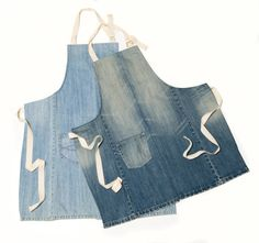 Hey, I found this really awesome Etsy listing at http://www.etsy.com/listing/151113593/two-repurposed-denim-pocket-aprons-light