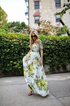 maxi dresses, floral maxi, feminin floral, dressing up, dress down a dress