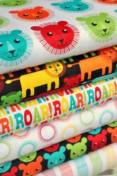 I want this ROAR! fabric! I have a couple little boys who that fits to a T! Hawthorne Threads Blog
