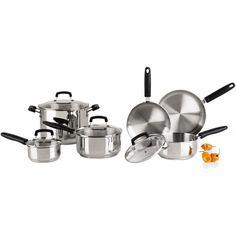 REVERE® 10-pc Stainless Steel Set