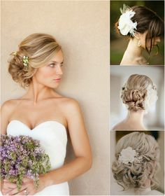 trend updo hair styles for wedding autumn by clip on long silky human hair extensions