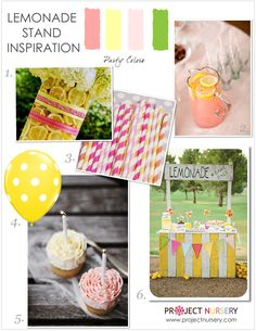 Lemonade Stand Party Inspiration