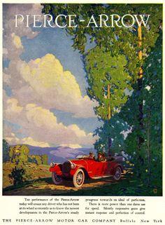 1920 Pierce-Arrow Ad.