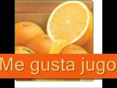 "Spanish songs for kids: fun song for teaching foods in Spanish and ""me gusta"" / ""no me gusta."" Great repetition for language learners. https://www.youtube.com/watch?v=P7RP3Mw5mNM"