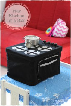 Play Kitchen-in-a-Box: Sewing Tutorial